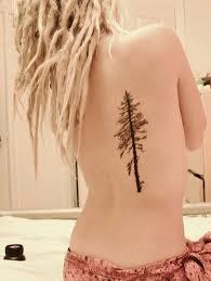 pine tree back tattoomagz