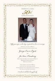 50th wedding anniversary program templates employee anniversary certificate template choice image templates