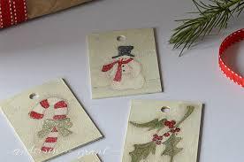 grant handmade gift tag ornaments