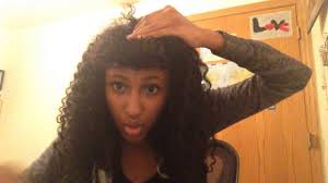 hairstyles for teens with big forehead make forehead look small curly hair tips tricks youtube