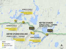 Odyssey Map Canadian Malartic Mine 3 Nsr Odyssey And Norrie Abitibi