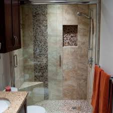 Bathroom With Shower Only Extraordinary Small Bathroom Ideas With Corner Shower Only Pics