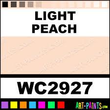 light peach artist 36 set watercolor paints wc2927 light peach