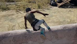 pubg s vaulting feature isn t quite ready to climb out