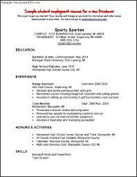 employment resume exles self employment resumes sle waitress resume exles office