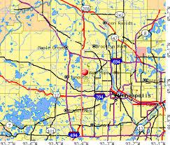 minnesota on map minnesota mn 55428 profile population maps