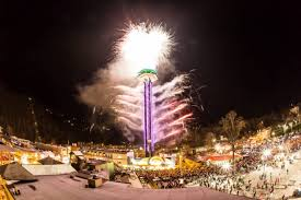 gatlinburg new year s drop and fireworks show the smoky
