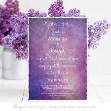 purple wedding invitations purple wedding invitation galaxy wedding invitation celestial
