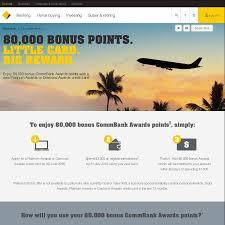 lexus rewards visa login commonwealth bank bonus 80 000 points with platinum awards credit