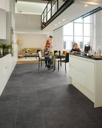 Kitchen Laminate Flooring by Quick Step Exquisa U0027slate Dark U0027 Exq1552 Laminate Flooring Www
