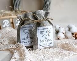 burlap gift bags burlap favor bag etsy