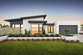 Modern Single Storey House Plans Contemporary Single Story House Facades Australia Google Search
