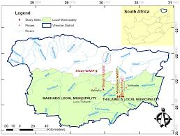 Rivers In Africa Map by Ijerph Free Full Text Determination And Distribution Of