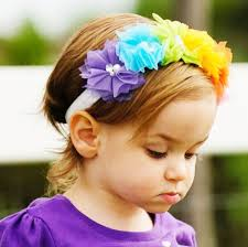 flower girl hair accessories cheap baby flower headbands children hair bows wholesale kids hair