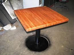 round butcher block table small kitchen with butcher block image of butcher block dining tables