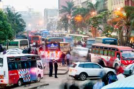Maps Traffic How Nairobi Got Its Ad Hoc Bus System On Google Maps Wired