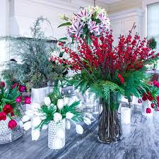flower decorating tips holiday flower decorating tips from p allen smith stargazer barn