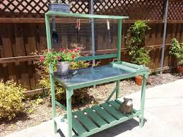 potting tables for sale brilliant recycled pallet potting bench idea 99 pallets for metal