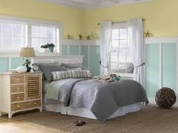 bedrooms yellow and pale aqua beach themed coastal bedroom with