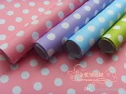 wholesale wrapping paper polka dot gift wrapping paper present wrap gift packing