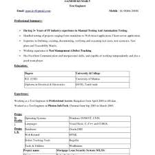 microsoft word template resume sle resume with microsoft word fresh brilliant ideas cv format