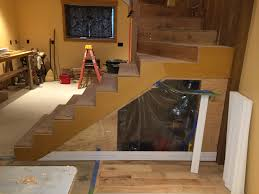 How To Scribe Laminate Flooring Stair Trim Out 3 U2014prefinished Plywood Skirt Boards Protradecraft