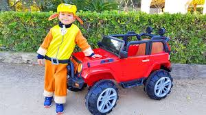 gemini jeep unboxing and assembling new jeep 4wd funny baby ride on power