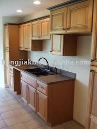 meuble de cuisine bois massif enchanteur cuisine bois naturel avec meuble cuisine bois brut