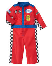 race car halloween costume toddler boys racing red racecar driver costume by gymboree