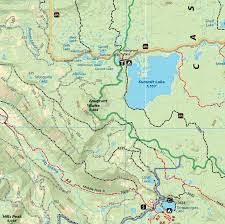 Squaw Trail Map Oakridge Oregon Trail Map Adventure Maps