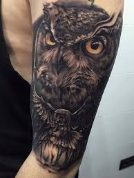 tattoo pictures of owls 27 owl family tattoos ideas