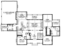 cathedral ceiling house plans plattsburgh craftsman home plan 051s 0054 house plans and more