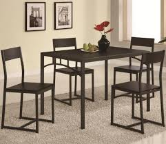 regular height casual dining casual dining room set co 150114