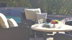 Westwood Comfort Furniture Westwood Lane 5pc Swivel Chat Set By Mission Hills Youtube