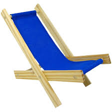 toy wood lawn folding chair royal blue fabric toy tents and chairs
