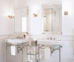Chrome Bathroom Mirror Bathroom Mirror Chrome Vintage Black And White