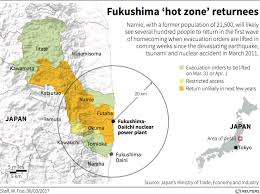 Fukushima Fallout Map by Fukushima Nuclear Evacuees Face Loss Of Government Assistance