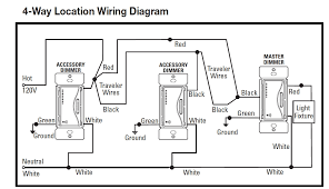 lutron maestro 4 way wiring diagram regarding lutron 4 way dimmer