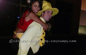 Curious George Costume George And The Man In The Yellow Hat Couple Costume