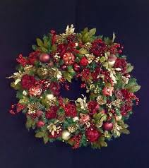 wreath xxxl wreath 36 lighted wreath cordless