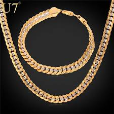 chain necklace size images 3 size cuban chain necklace bracelet men jewelry necklacenter jpg
