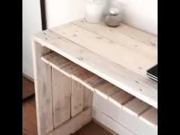 bureau palette bois bureau en palettes