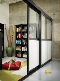 sliding glass room dividers frosted the sliding door co