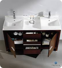 Bathroom Vanity Double Sinks Fresca Allier 60