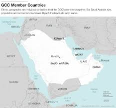 Map Of Persian Gulf The Gulf Cooperation Council Finding Safety In Numbers