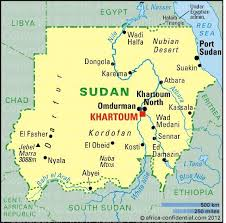 africa map khartoum sudan browse by country africa confidential