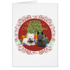scottish terrier westie christmas gifts zazzle