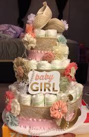 tea party diaper cake baby shower pinterest tea party diaper