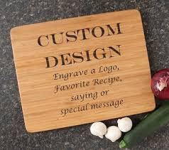 recipe engraved cutting board personalized cutting board 15 12 bamboo personalized cutting board
