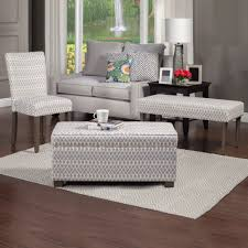 Diamond Furniture Living Room Sets by Homepop Gray Diamond Parson Chairs Set Of 2 Homepop